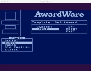 AwardWare 2 04