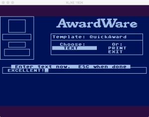 AwardWare 2 05