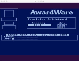 AwardWare 2 06