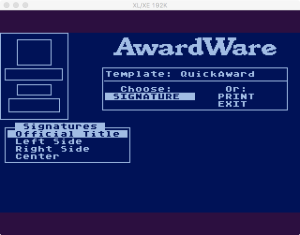 AwardWare 2 07