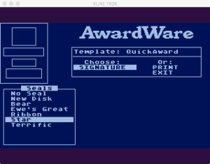 AwardWare 2 08