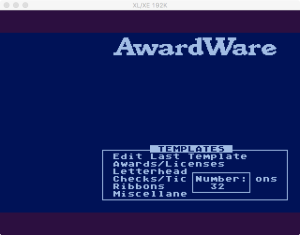 AwardWare 3 2 1