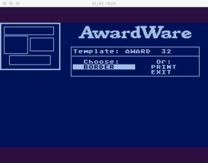 AwardWare 3 2 2