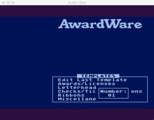 AwardWare 3 3 1