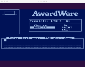 AwardWare 3 3 2