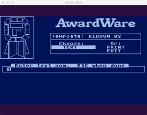AwardWare 3 5 3