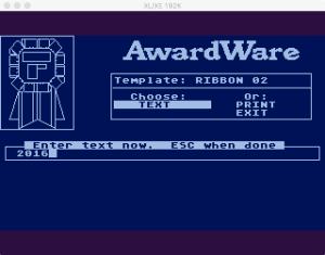 AwardWare 3 5 4