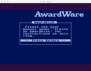 AwardWare 4 1