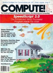 SpeedScript Compute! Cover