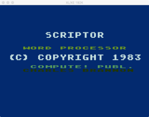 Scriptor boot splash 2