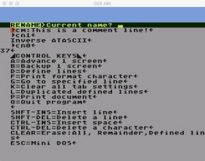 Scriptor DOS Rename