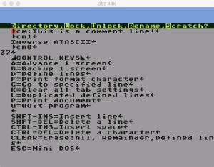 Scriptor Mini DOS