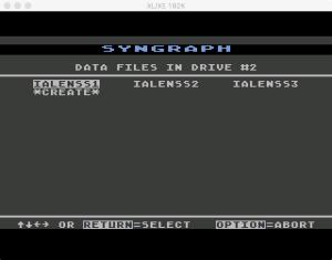 SynGraph Edit 2