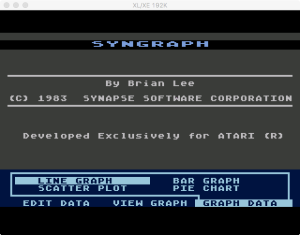 SynGraph Graph Menu