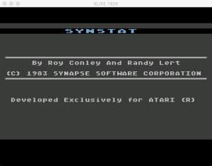 SynStat Boot Splash