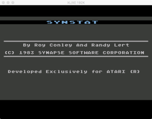 SynStat Boot Splash
