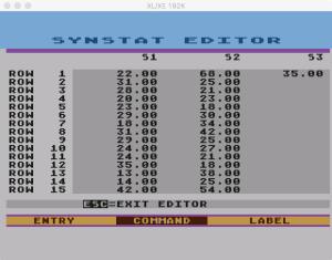 SynStat Edit 5
