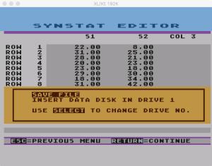 SynStat Edit 7