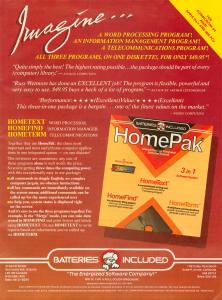 HomePak Ad