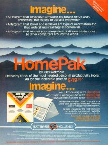 HomePak Ad 8501
