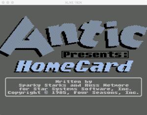 S3E04 HomeCard Boot