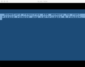 S3E04 HomeCard Boot Error